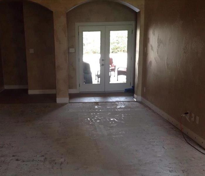 Flooding in Residential Home After